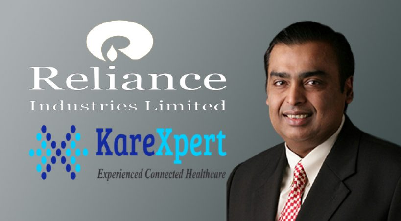 Reliance Industries Unit Invests Rs 10 Cr in Digital Healthcare Startup