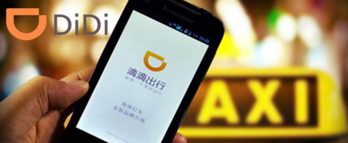 Chinese Cab Rider Didi to Test Self-Driving Cars in California