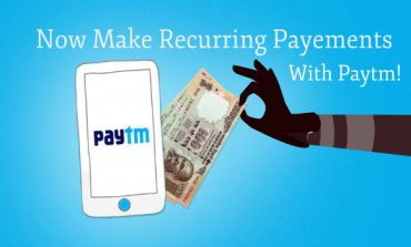 "Paytm Launches Recurring Payments Feature ""My Payments"""