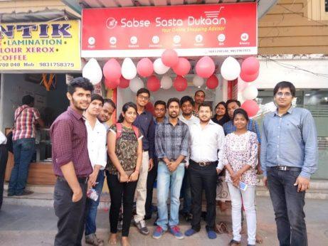 Sabse Sasta Dukaan offline store in Kolkata