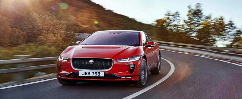 Jaguar Reveals its First Electric Car I-Pace