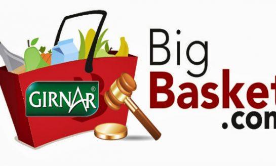 Girnar Food Drags Big Basket to Court Over Trademark Violation