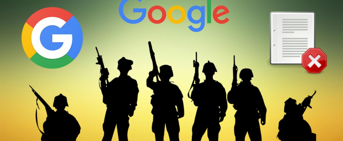 Google Steps Back from Continuing the Military AI Project