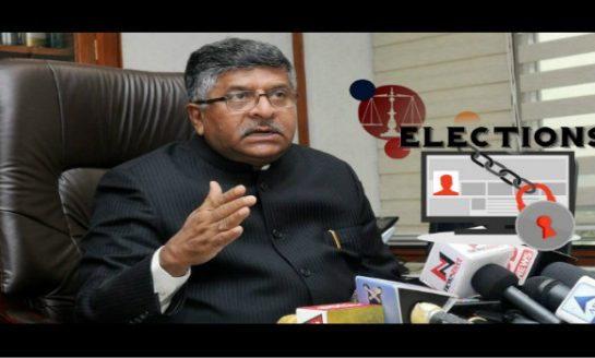 Govt Won't Tolerate Misuse of Data to Influence Polls: IT Minister