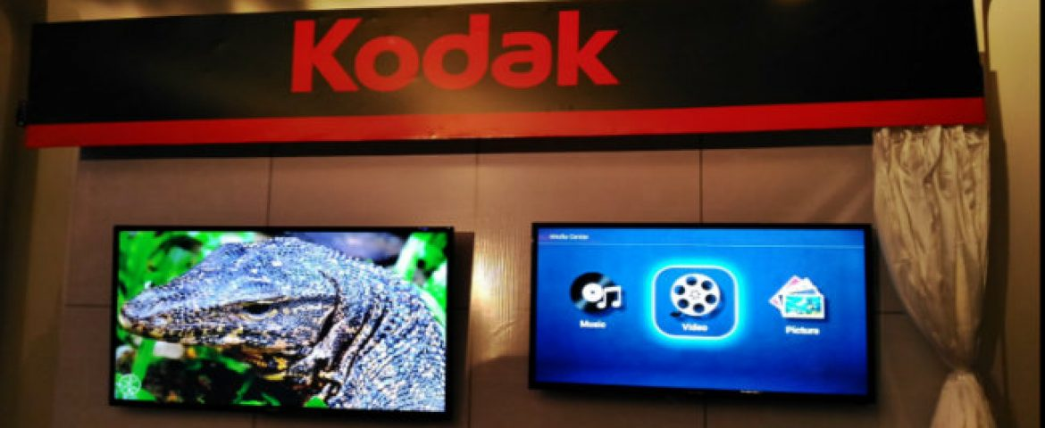 Kodak Aims to Make Big in E-commerce to boost TV sales
