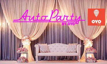 OYO Makes Entry Into The Wedding Space Through Auto Party