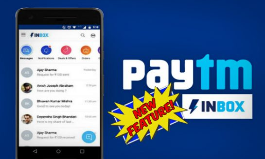 Paytm Inbox Brings New Amusing Features For Free