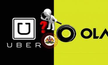 Karnataka Government Issues Violation Notice To Uber,Ola