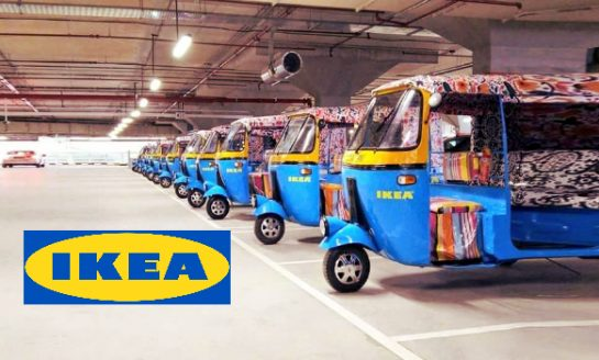 IKEA Hyderabad To Use Electric Rickshaw for Home Delivery