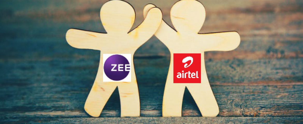 After Reliance Jio, ZEE is Partnering with Bharti Airtel