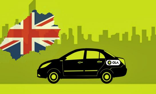 Now Book Ola Cab Service in England Too