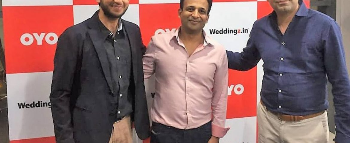 OYO Acquires Wedding Platform Weddingz