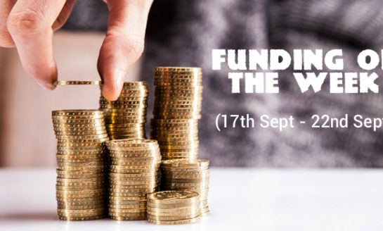 Top 5 Funding of The Week (17th Sept - 22nd Sept)
