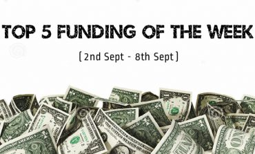 Top 5 Funding of The Week (2nd Sept - 8th Sept)