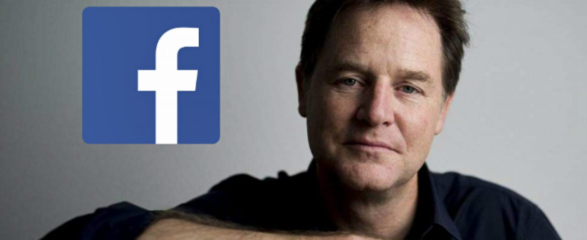 Facebook Appoints Former UK Deputy PM as Head of Global Affairs
