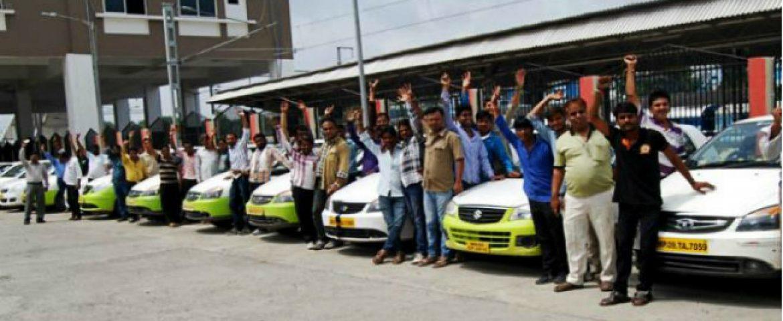 Uber & Ola Strike hits Delhi and Mumbai Riders
