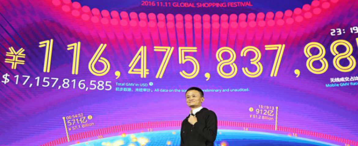 Alibaba Settles $9.92 Billion in the First Hour of its AnnualSingles' Day