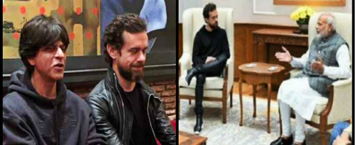Jack Dorsey, on his Maiden Trip to India, Meets Political Leaders and Bollywood Celebrities