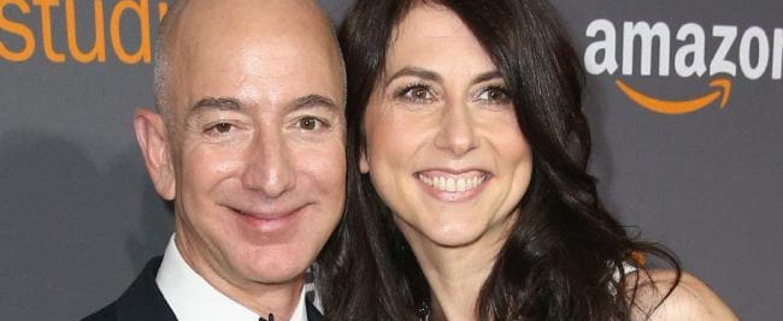 MacKenzie Bezos surrender 75% Amazon couple shares