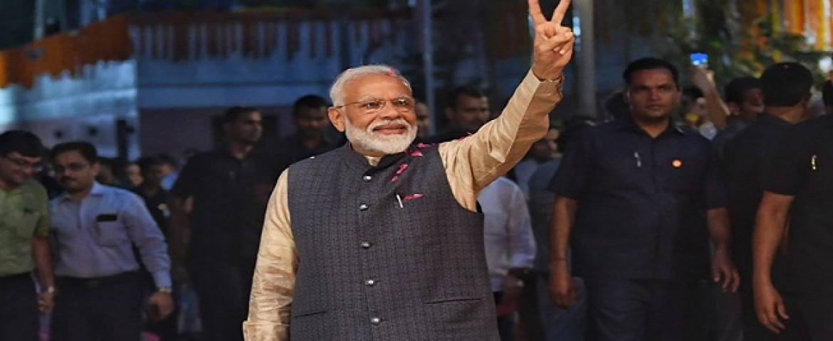 How Indian Startups Congratulate PM Narendra Modi For Second Term