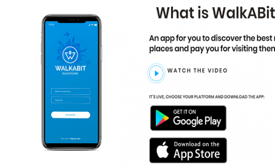 WalkABit app Officially Launched in Spain
