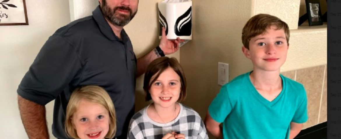 Firefighting Dad creates first innovation in Smoke detection in decades
