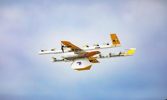 Alphabet Drone Service Wing Launched First Commercial Delivery in USA